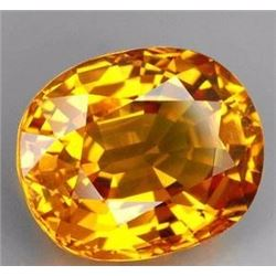 Natural Golden Yellow Sapphire 4.30 Carsts