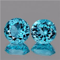 Natural Top Sky Blue Topaz 10.00 MM -  VVS