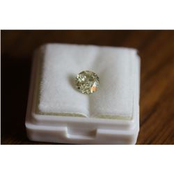 Natural Light Champagne Diamond 1.21 carats