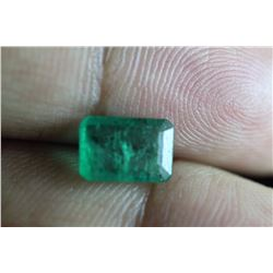Natural Emerald 1.765 carats - no Treatment