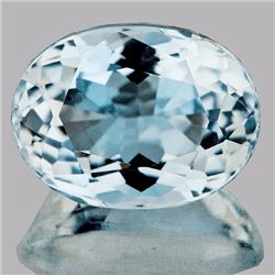 Natural Sky Blue Aquamarine 2.68 Cts