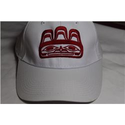 West Coast Native Embroidered Bear Hat