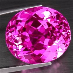 Natural hot Pink Topaz 28.25 carats - VVS