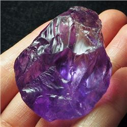 Natural Intense Purple Amethyst Rough 217 Carats