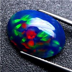 Natural Full Fire Ethopian Black 3.64 Cts Opal
