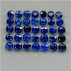 Natural Top Blue Round Sapphire 6.60 Ct.