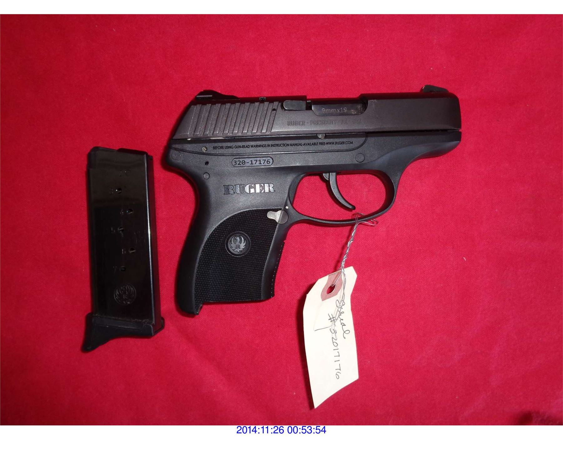 ruger lc9 user manual