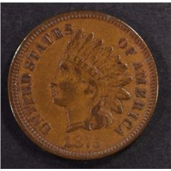 1875 INDIAN HEAD CENT, XF