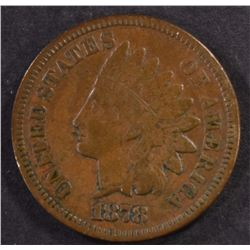 1878 INDIAN HEAD CENT, FINE