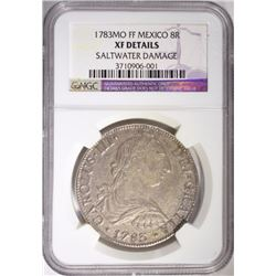 1783MO FF MEXICO 8 REALES NGC XF DETAILS
