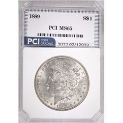 1889 MORGAN DOLLAR PCI MS65