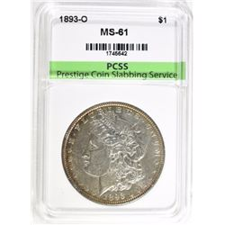 1893-O MORGAN DOLLAR PCSS BU