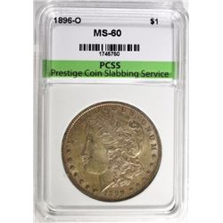 1896-O MORGAN DOLLAR PCSS BU