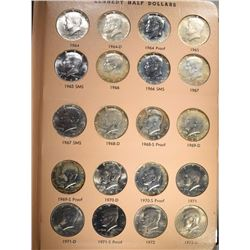 KENNEDY HALF DOLLAR COMPLETE SET 1964-2011