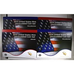 2013 & 2014 U.S. MINT SET IN ORIGINAL PACKAGING