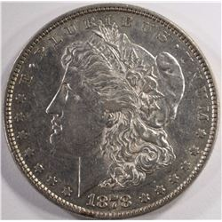 1878 8TF MORGAN SILVER DOLLAR, AU