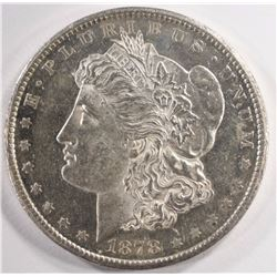 1878-CC MORGAN SILVER DOLLAR, CHOICE BU PROOF LIKE