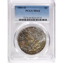 1901-O MORGAN DOLLAR, PCGS MS-64