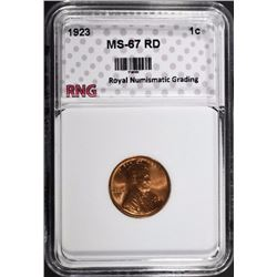 1923 LINCOLN CENT RNG SUPERB GEM RD