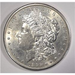 1899-S MORGAN SILVER DOLLAR AU/BU  SEMI-KEY