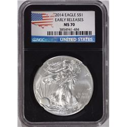 2014 ASE - NGC MS70 EARLY RELEASE