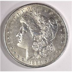 1884-S MORGAN DOLLAR XF