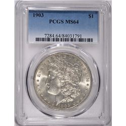 1903 MORGAN DOLLAR PCGS MS-64