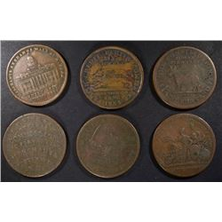 TOKENS; 1837 E.F. SISE&CO MAINE; 2-1833