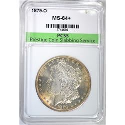 1879-O MORGAN DOLLAR PCSS CH/GEM BU+