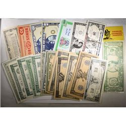 CURRENCY LOT: SCARCE EDGAR BERGEN AND MANY MORE