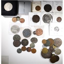 COLLECTORS LOT: U.S. AND FOREIGN -SEE DETAILS