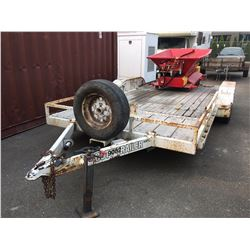 2005 SCOTT FLATDECK TRAILER VIN # 2S9TF523051095209, NO ICBC DECLARATIONS