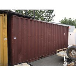 20' BROWN SHIPPING STORAGE CONTAINER