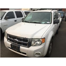 2008 FORD ESCAPE HYBRID, VIN 1FMCU49H38KD28445