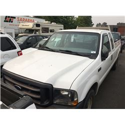 2004 FORD F250 XL SUPERDUTY VIN 1FTNX20L24ED27063