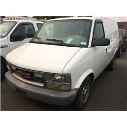 2005 GMC SAFARI, WHITE, VAN VIN 1GTDM19X85B508336