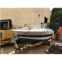 SUNRUNNER 16' POWER BOAT HULL SERIAL NO. XUE30860M831