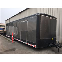 2016 CARGO MATE 28' BOX TRAILER VIN 5NHUBLD21BB458960