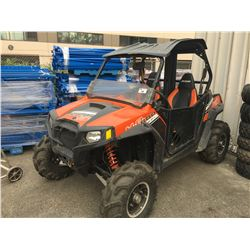 2012 POLARIS RZR 800S RANGER SIDE BY SIDE ATV 2786 MILES