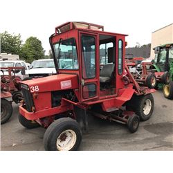 TORO 33677 DIESEL TRACTOR WITH REEL MOWERS HAVE REGISTRATION