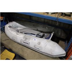 TITAN CS-230AL 3 - PERSON ALUMINUM FLOOR INFLATABLE BOAT