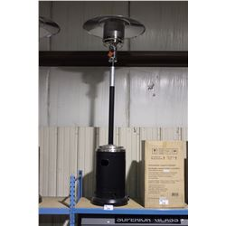 PARAMOUNT L10-SS-BKP BLACK/STAINLESS OUTDOOR PROPANE PATIO HEATER