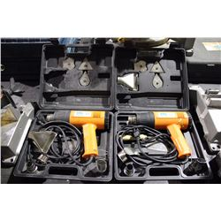PAIR OF HEAT GUNS