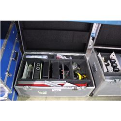 HELIOCENTRIS ROAD CASE WITH VOLTAGE/CURRENT METER, LOAD MODULES, AIR CELLS & TESTING EQUIPMENT