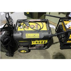 CHAMPION 7200 WATT GAS GENERATOR