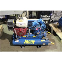 JENNY HORIZONTAL AIR COMPRESSOR