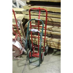 BOTTLE CART & 2 WHEEL HAND CART