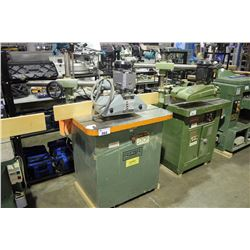 RITTER HEAVY DUTY SHAPER WITH STOCK FEEDER