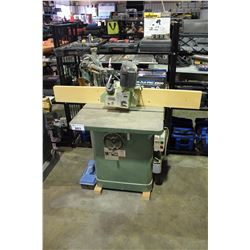 GRIZZLY 3/4 INCH HEAVY DUTY SHAPER WITH STOCK FEEDER