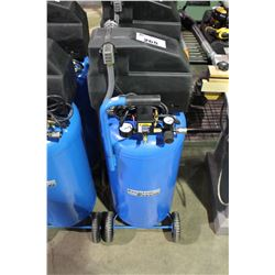 PREMIUM BRANDS 125 PSI MOBILE UPRIGHT AIR COMPRESSOR